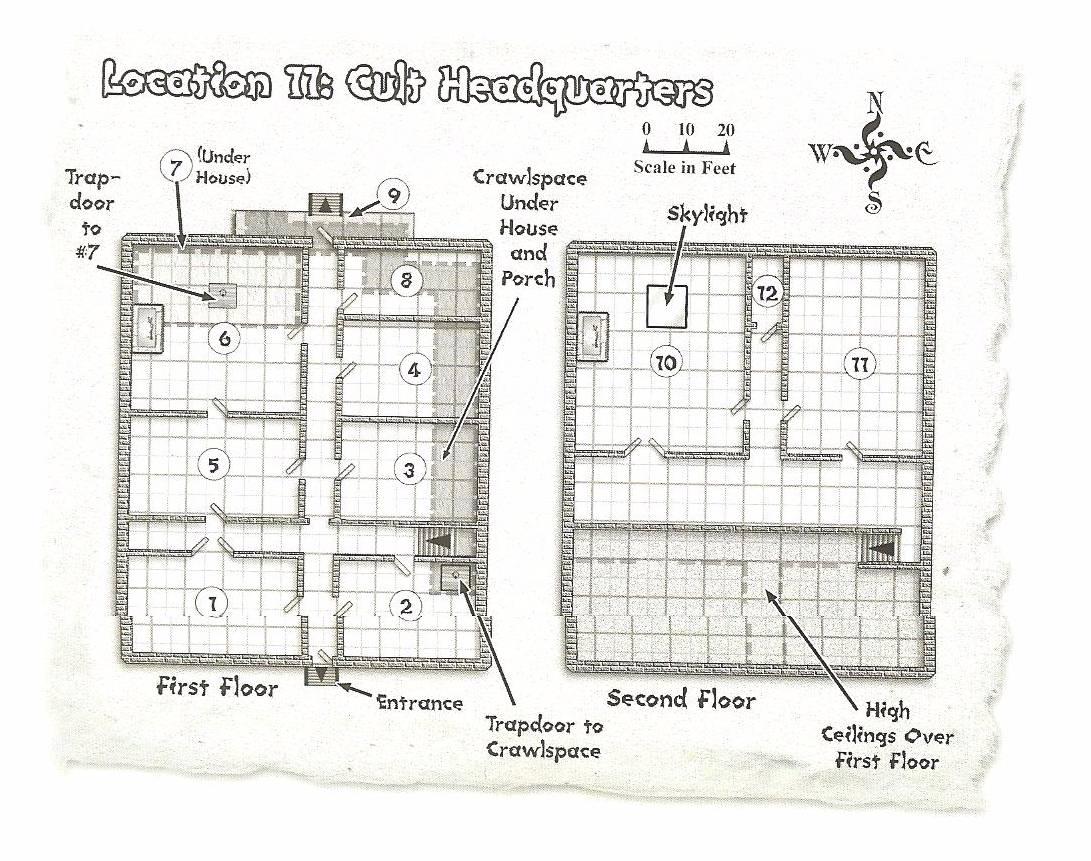 Accordlands Harranshee Cult Hq Trapdoor Schematic Headquarters
